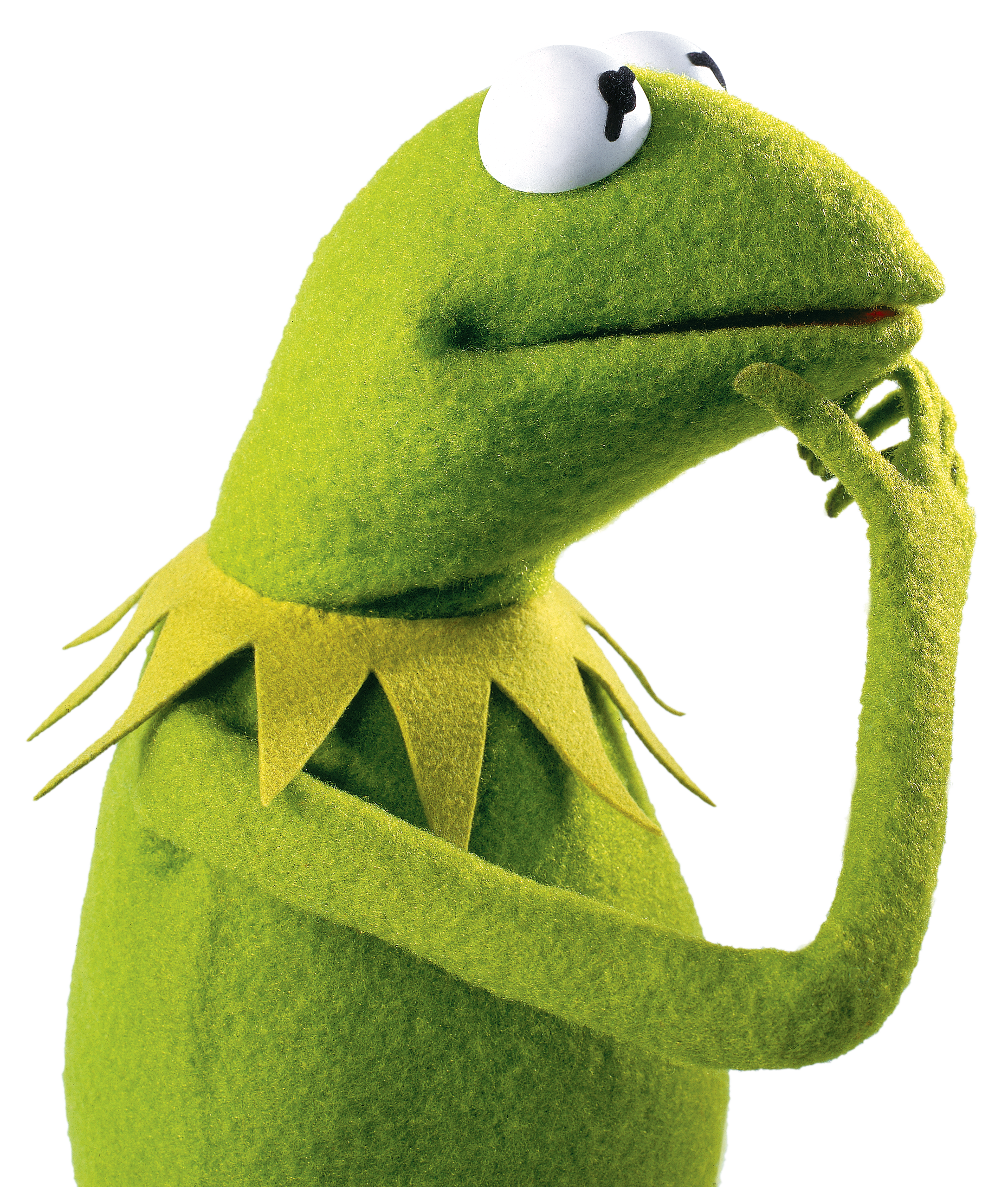 Contemplates how to make. Kermit memes png png black and white stock