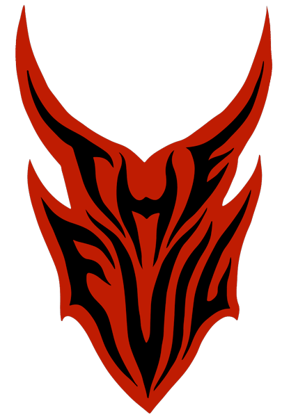 Evil logo png. The red web osmose