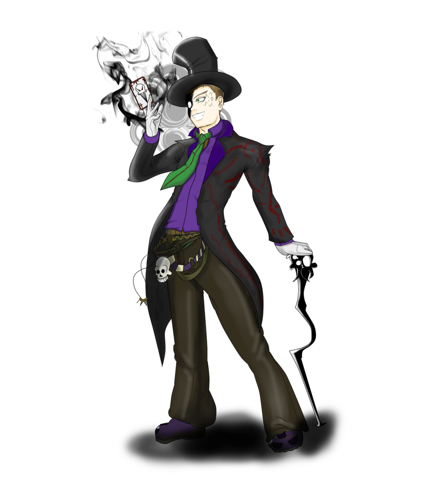 Evil man png. Oc magic by gedeongedza