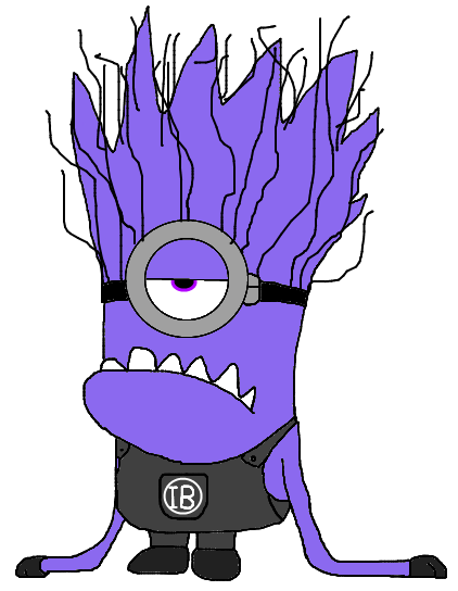 Evil minion png. Image buddy the geo