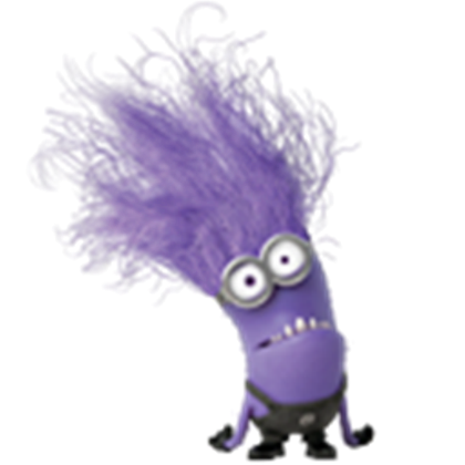 Evil transparent minion. Roblox