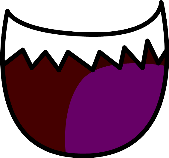 Evil mouth png. Image hahah assets object