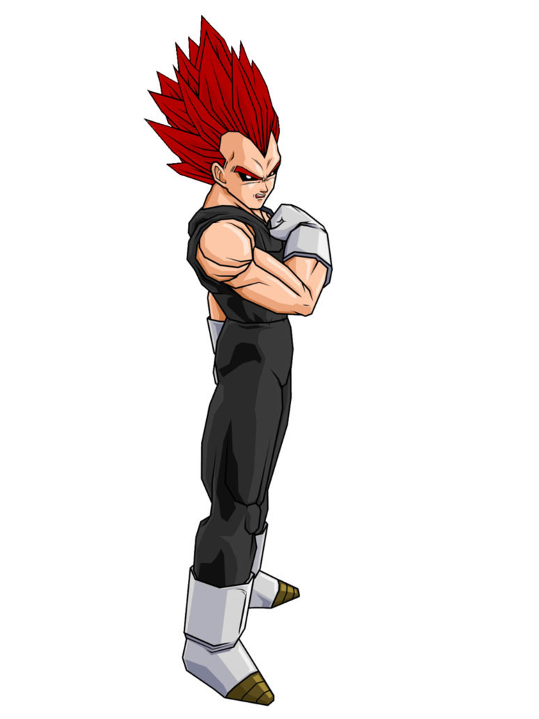 Evil person png. Image vegeta ssj by