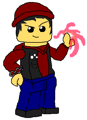 Evil person png. Image lego delsin rowe