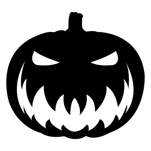 scary pumpkin png