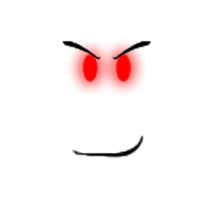 Red glowing eyes png. Evil mania roblox