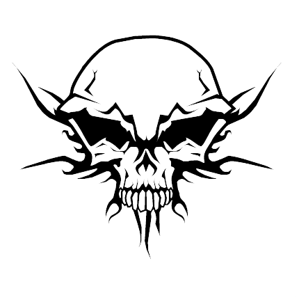 Evil skull png. Collection of face