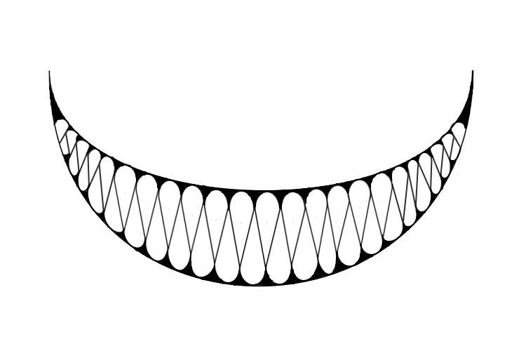 Evil smile png. Freetoedit sticker by l
