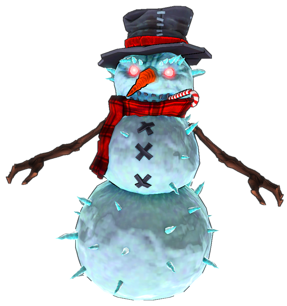 Evil snowman png. Etherian holiday extravaganza dungeon
