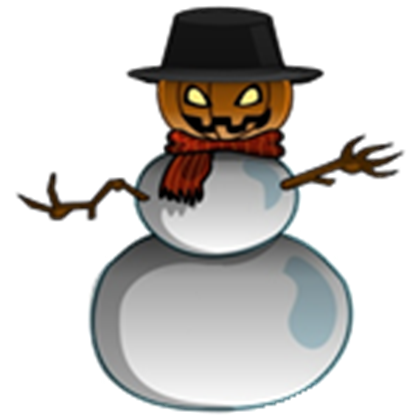 Evil snowman png. Something wicked this way