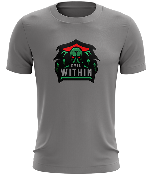 Evil within logo png. Tee grey arma