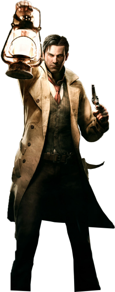 Evil within png. The render