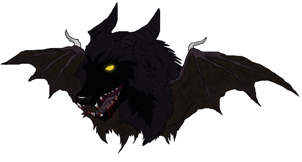 Evil wolf png. Cave tattoo by black