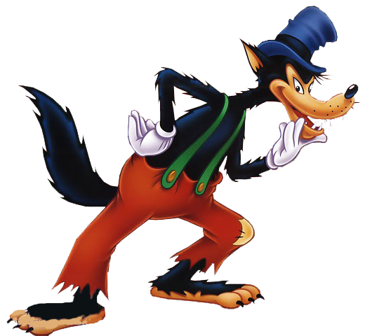 Evil wolf png. Big bad disney wiki