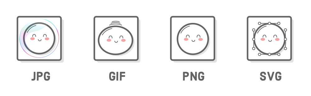 Examples of png files. Links and images tutorial