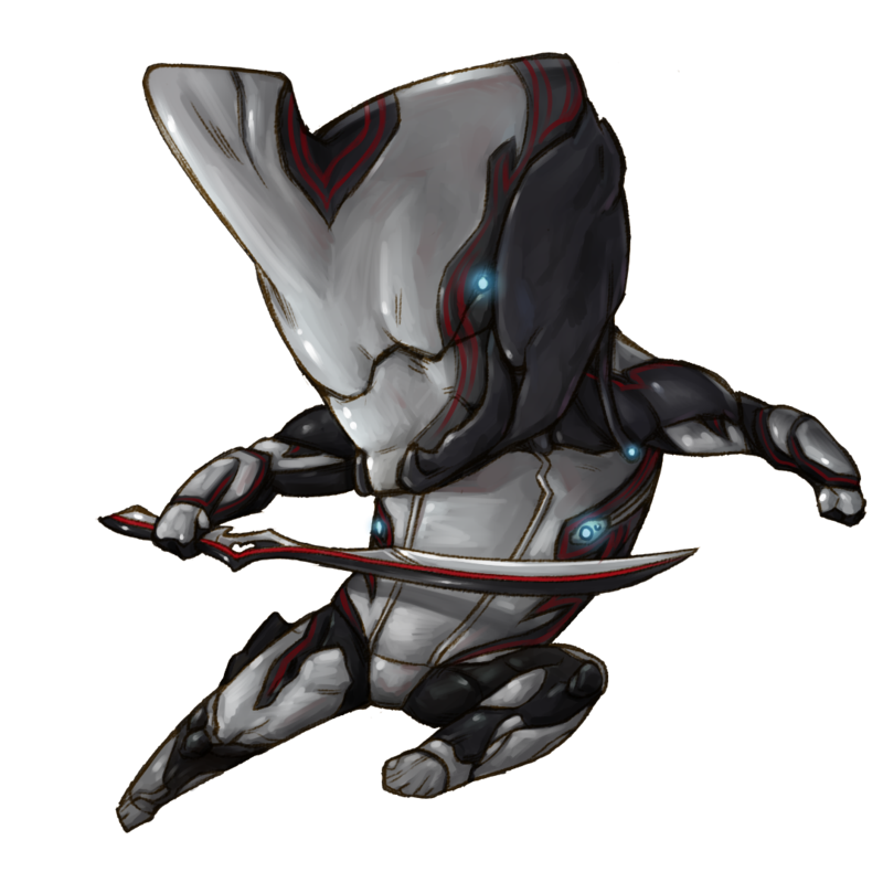 Excalibur drawing prime. Warframe by jiayibingding on