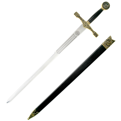 Excalibur drawing sword. Swords by medieval collectibles