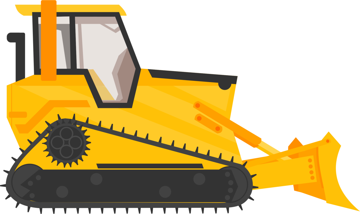 Caterpillar inc bulldozer excavator. Backhoe clipart engineering equipment image free stock