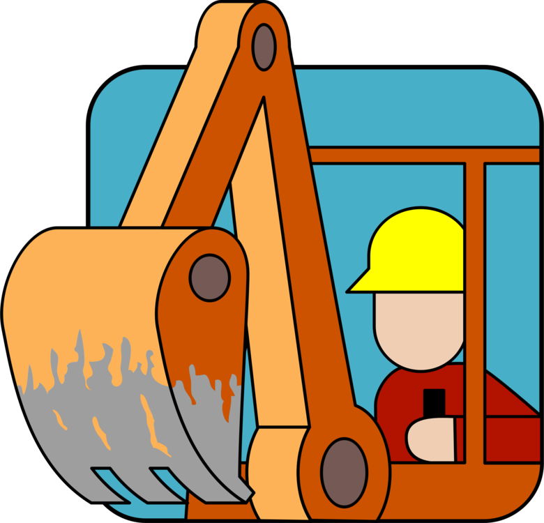 Computer icons heavy free. Backhoe clipart plant machinery png library stock