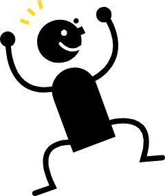 Excited clipart. Clip art person