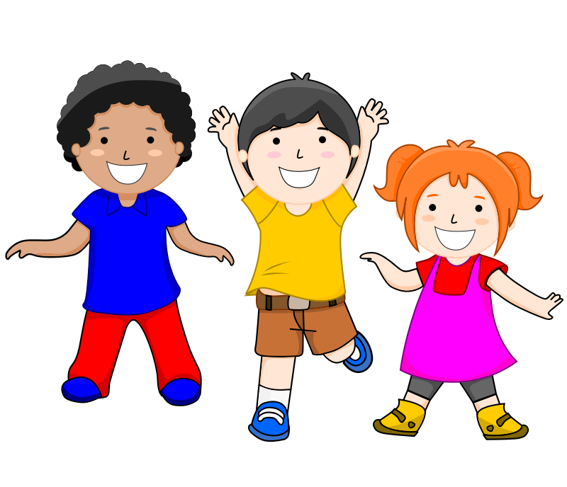 Drawing clip happy kid. Person clipart group with