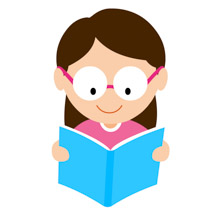 Reading clipart. Free clip art pictures