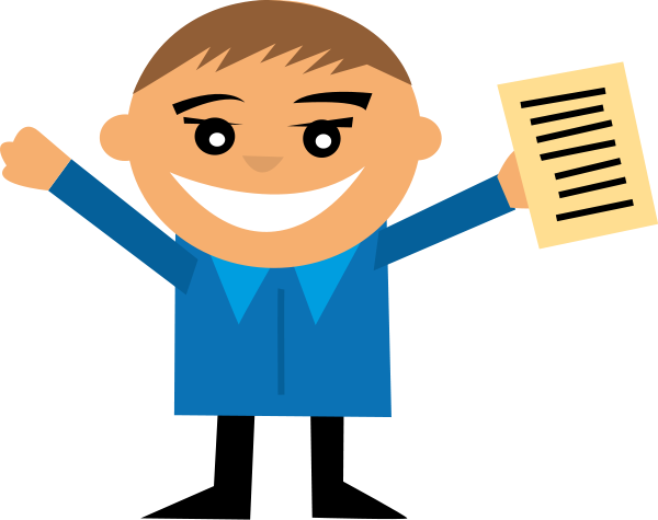 Excited clipart happy employee. Clipartix