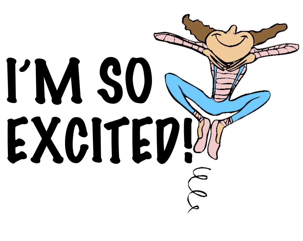 excited clipart i m