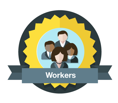 Excited clipart successful employee. Want to join the