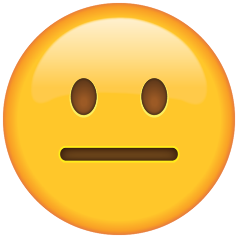 Excited emoji png. Download neutral face island