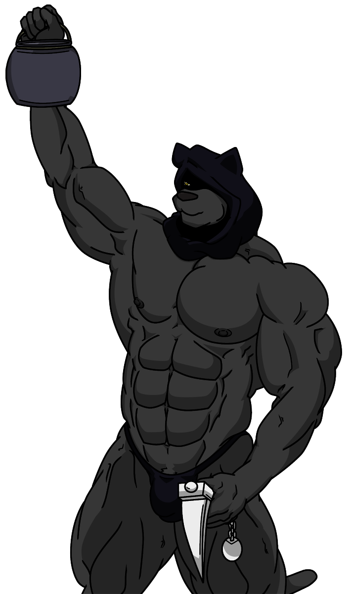 Executioner drawing. The by wolfoxokamichan fur