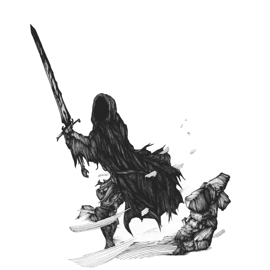 executioner drawing sword