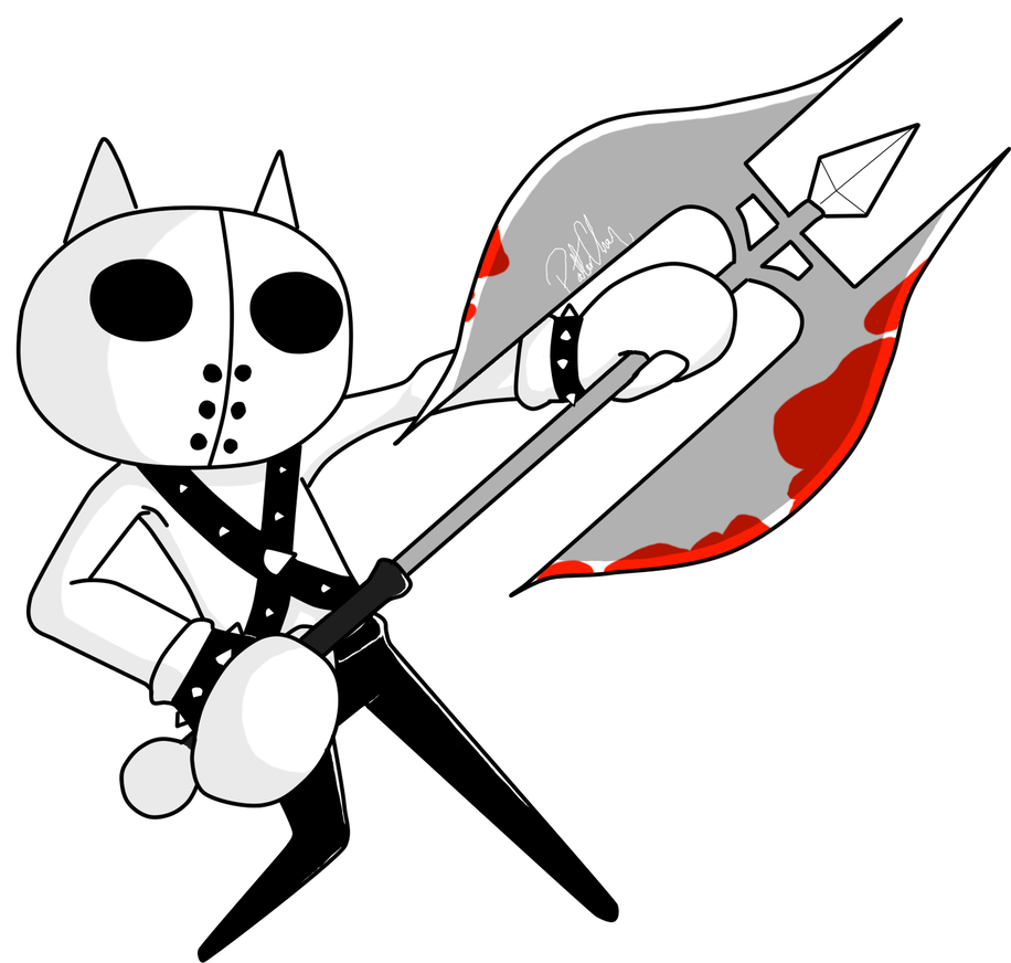 Executioner drawing deviantart. Cat by polterchan on