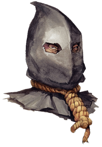 Executioner drawing hood. S holivian tales price