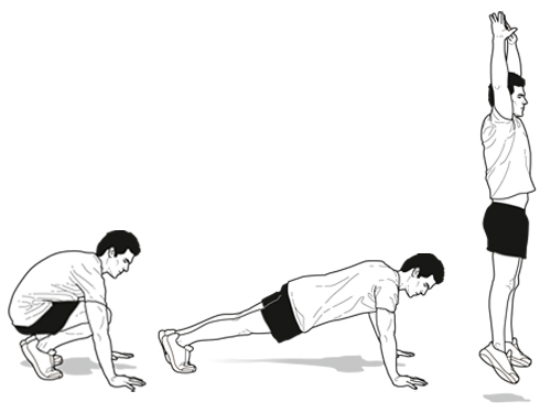 Exercise clipart burpee. The torture or treasure