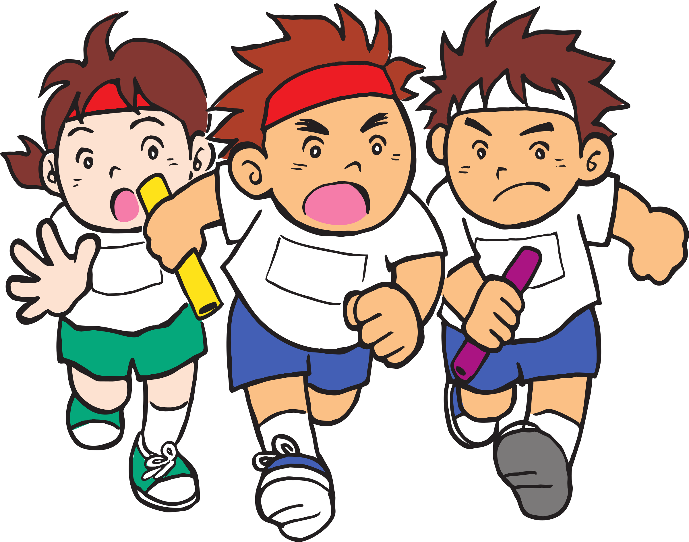 Children clipart sport. Sports day big image