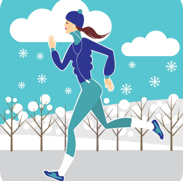 Exercise clipart winter. What to wear outdoor