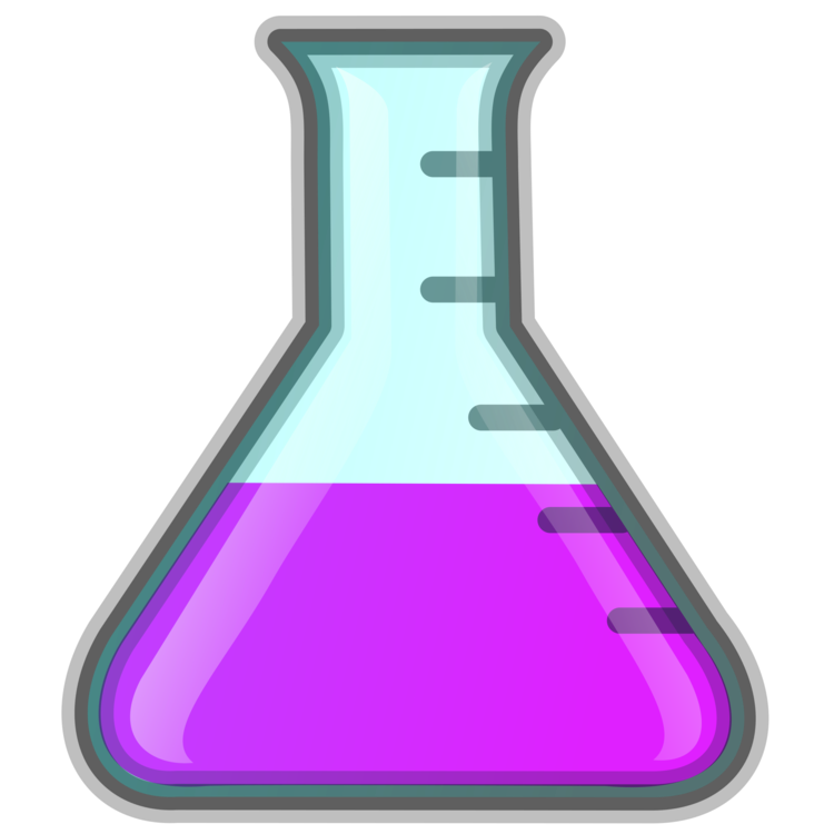 Vector laboratory science project. Flasks chemistry experiment free