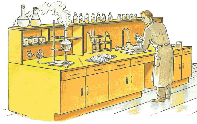Lab clipart school science lab. Chemistry laboratory experiments measurements