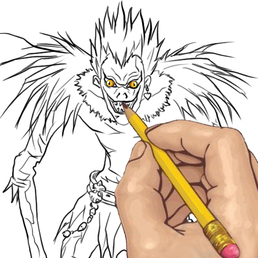 Expert drawing anime. How to draw death