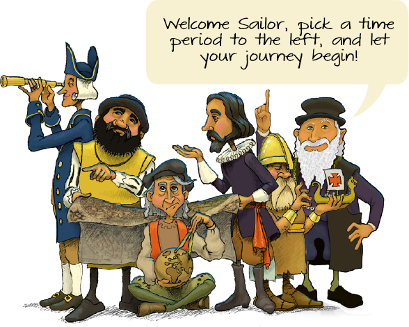 Columbus clipart early explorer. Home ages of exploration
