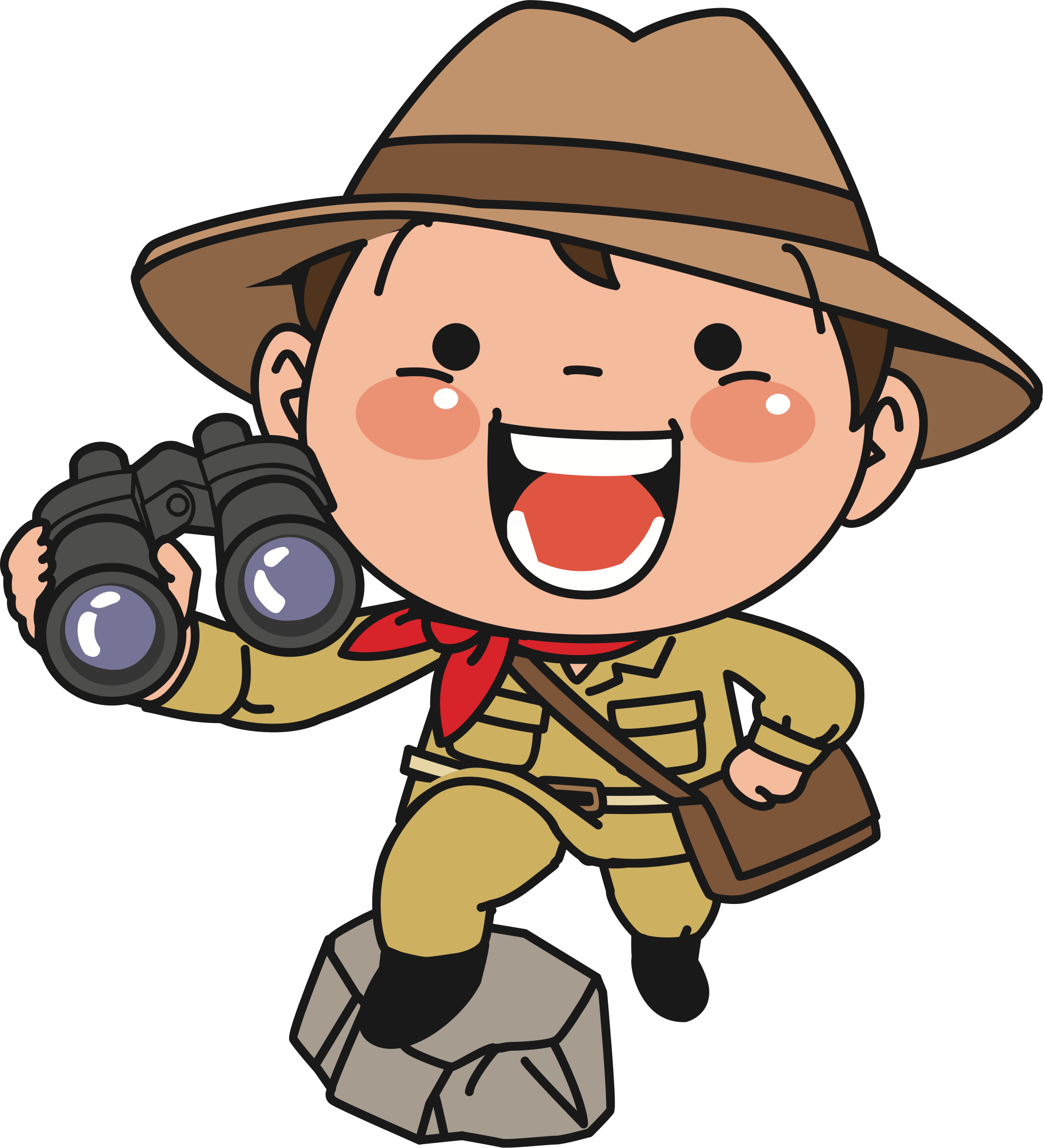 Explorer drawing clipart. Person svg free