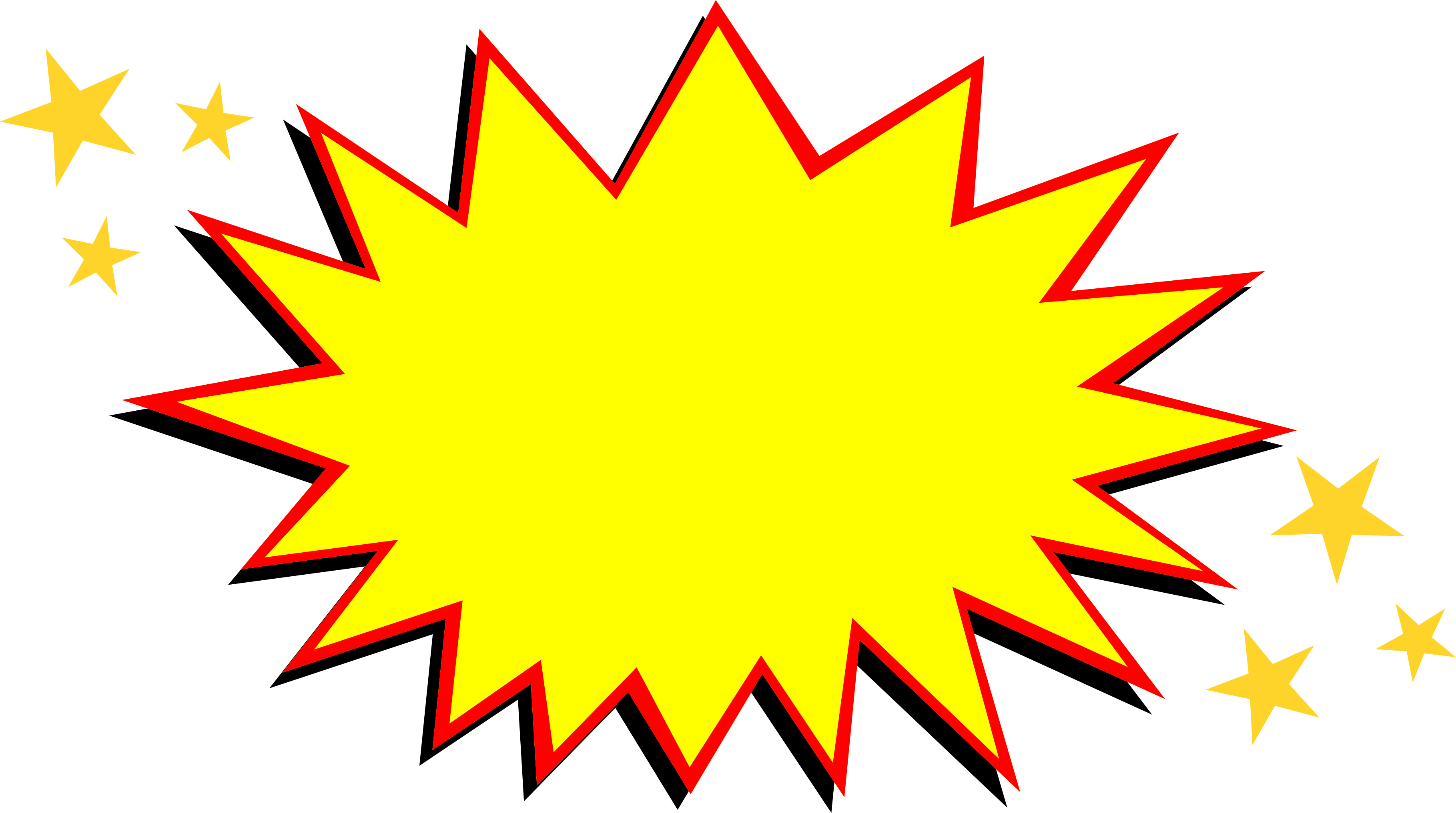 comic explosion png