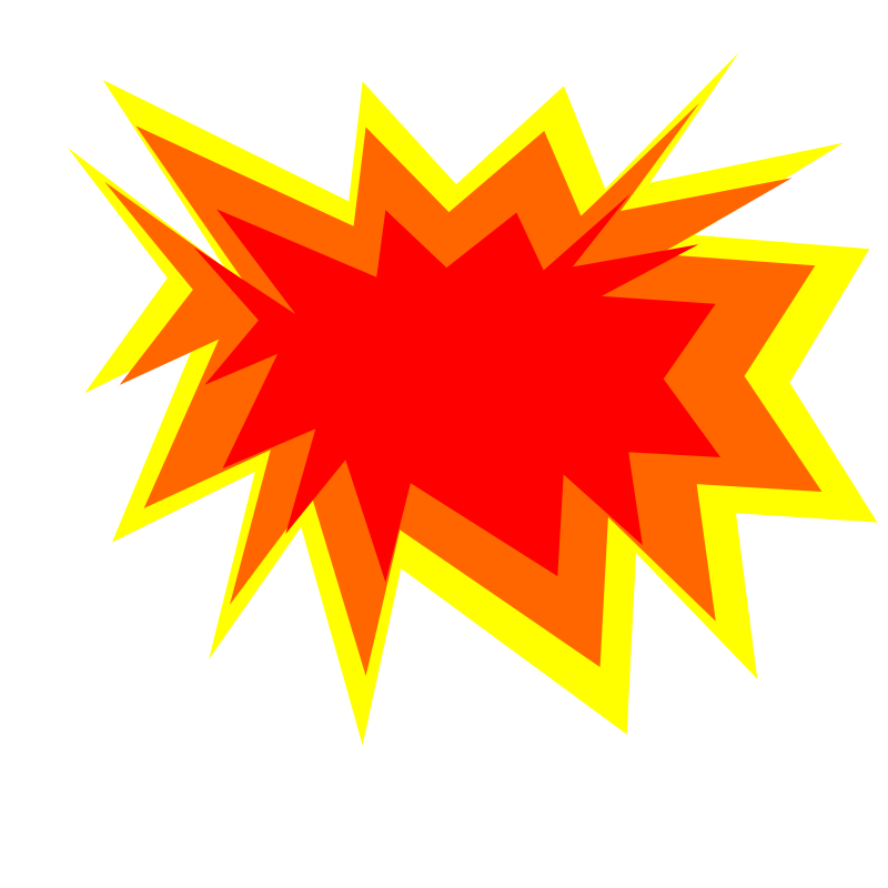 Explosion clipart. Free cliparts download clip
