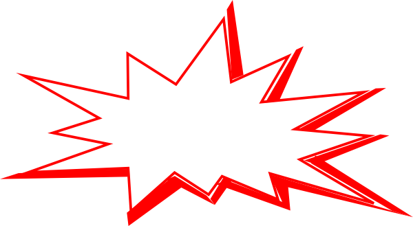 Explosion clipart red. Explode clip art at