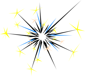 Sparks clipart gold sparkle. Group with items clip