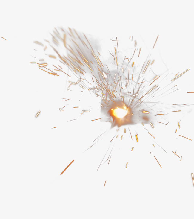 Sparks clipart. Exploding explosion spark special