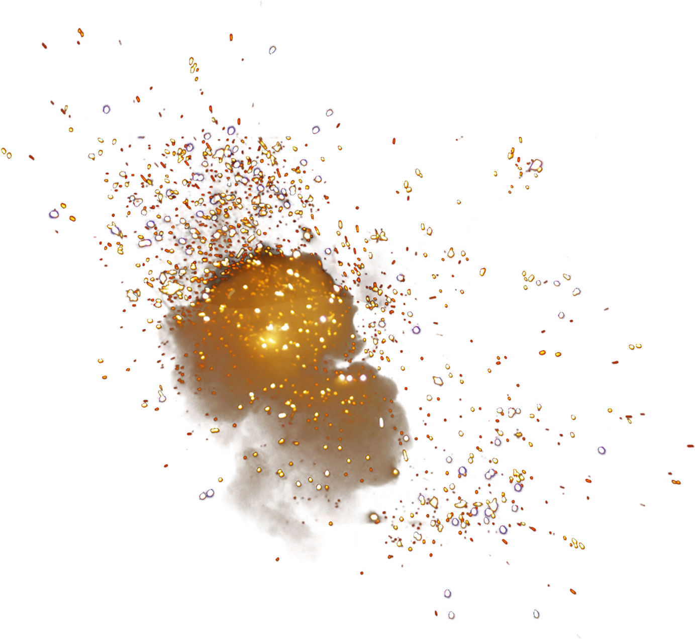 Png particles. Explosion particle light picture