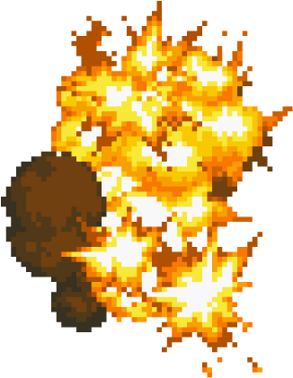 Explosion gif png. Download transparent bomb x