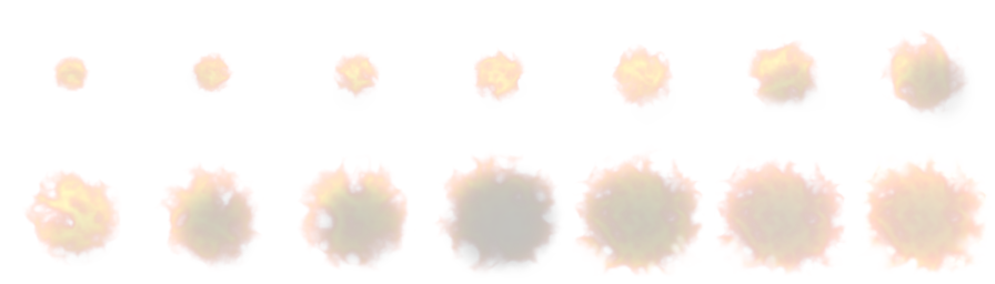 Explosion sprite sheet png. Graphical effect source code